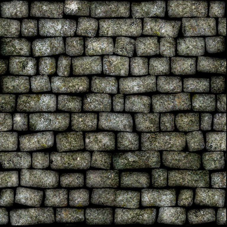 how to draw stone walls