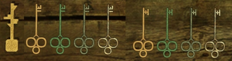 New key variants